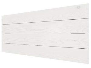 LA WEB DEL COLCHON - Cabecero de Madera Austin Vintage para Cama de 90 (100 x 44 cms.) Blanco nórdico | Cabeceros Madera | Dormitorio Matrimonio | Cabezal Cama | Cama Juvenil |Estilo nórdico 2