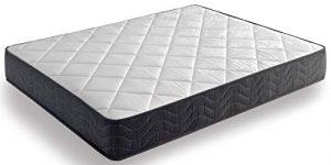 Colchón Altamente Transpirable de Firmeza Media Nucleo Flexible Fibras Naturales (80x180 cm, 15-16 cm) 10