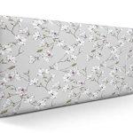 SUENOSZZZ-ESPECIALISTAS DEL DESCANSO Cabecero tapizado para Camas de 90 (100 x 57 cm) en Tela Motivo Estampado Izumi Floral 11