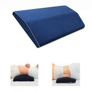 LandJoy Almohada de Soporte Lumbar,Dormir Memoria Espuma Cojín Almohada Larga,Almohada Lumbar para la Parte Inferior de la Espalda para el Alivio del Dolor de Espalda Almohada de Embarazo(Azul) 6