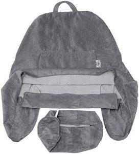 Husband Pillow Solo para Funda Dark Grey – para la Almohada Esposo – Descanso – Lectura y Soporte para la Espalda con Brazos 7