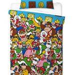 Super Mario - Funda de edredón, Multicolor, 200 x 130 cm 13