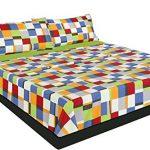 Montse Interiors Juego de sábanas Estampado Cuadros de Colores (Neil, para Cama de 90x190/200) 16