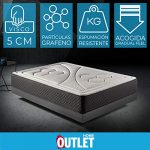 HOME Colchón 150x190cm Viscoelastico Memory Vex Foam 27cm Altura, 5cm viscoprogresion Grafeno 17
