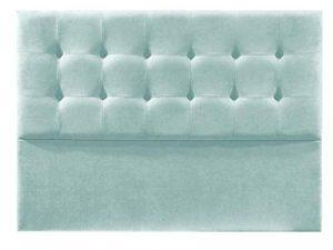 Cabecero de Cama tapizado en Tela Nido. Altura 120cm. Color Verde Agua. para Cama de 90 (Medidas 100x120x8) Pro Elite. 7