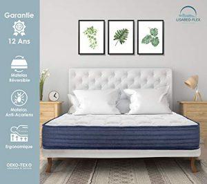 Lisabed Flex | Colchón ViscoConfort 140 x 200 cm | Viscoelástico Alta Densidad | Reversible (Invierno/Verano) | Gama Grand Confort | 20 cm (+/- 2 cm) | Todas Las Medidas 2