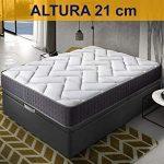 Relaxing-Confort Colchon de 140x190 Viscoelastico-Grafeno, Espuma 15