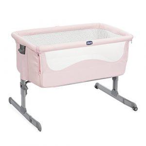 Chicco Next2me - Cuna de colecho con anclaje a cama y 6 alturas, color rosa 9