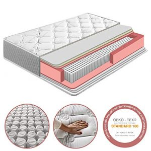 Colchón Soft Confort 150x190 cm de Muelle Ensacado, 22 cm de Altura, Reversible, Independencia de lechos, Firmeza Medio-Alta, Alta Durabilidad 9