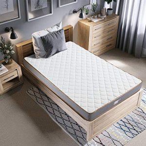 BedStory Colchon Viscoelastico Bambú 90x190CM Colchones para Cama Hotel Viscoelastica Firmeza Media Anti-ácaros e Hipoalergénicos 1