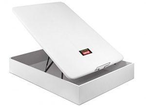 PIKOLIN CANAPÉ ABATIBLE NATURBOX Madera 3D - (105x190, Blanco) 2