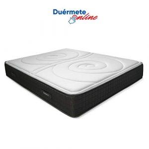 Duérmete Online Colchón Viscoelástico Duo Reversible   Altura 25cm   Confort Máximo   Acolchado Exclusivo, Biogel, 90x180 1