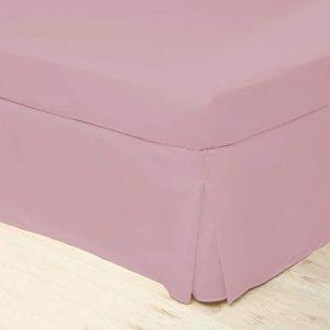 Belledorm - Cubre canapé de Cuidado fácil (Single) (Rosa) 10