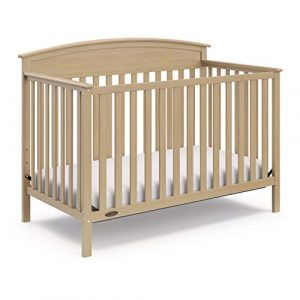 Graco Benton Cuna convertible 4 en 1, madera de deriva, madera maciza de pino y madera, se convierte en cama infantil o cama de día (colchón no incluido) 9