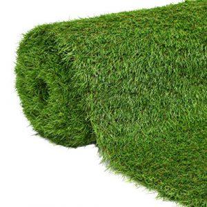vidaXL Césped Artificial 1x5m/40mm Verde Casa Jardín Terraza Decoración Patio 3