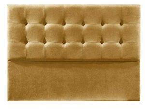 Cabecero de Cama tapizado en Tela Nido. Altura 120cm. Color Mostaza. para Cama de 150 (Medidas 160x120x8) Pro Elite. 8