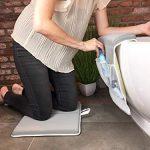 miRio Baby Kneeler • Juego de almohadas para rodillas y almohadas para rodillas de bañera premium, baño antideslizante y cómodo para niños / bebés / perros (gris) 11