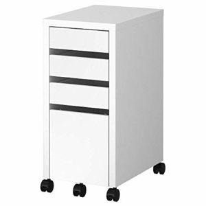 IKEA MICKE - Cajonera para archivos, color blanco 2